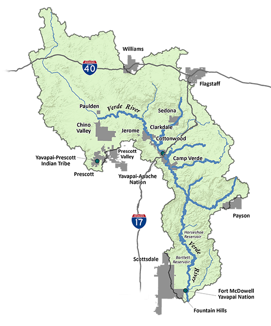 Verde Watershed Map - Top 10 Reasons