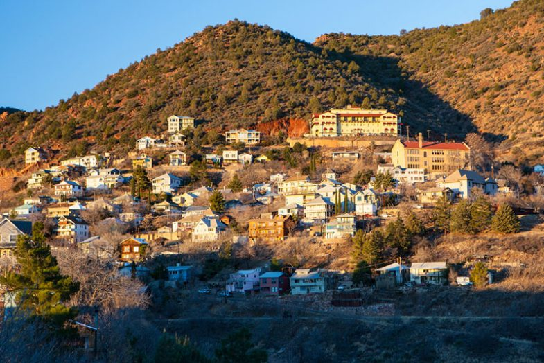 Town of Jerome - Morning sun