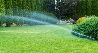 Outdoor Water Use Irrigation