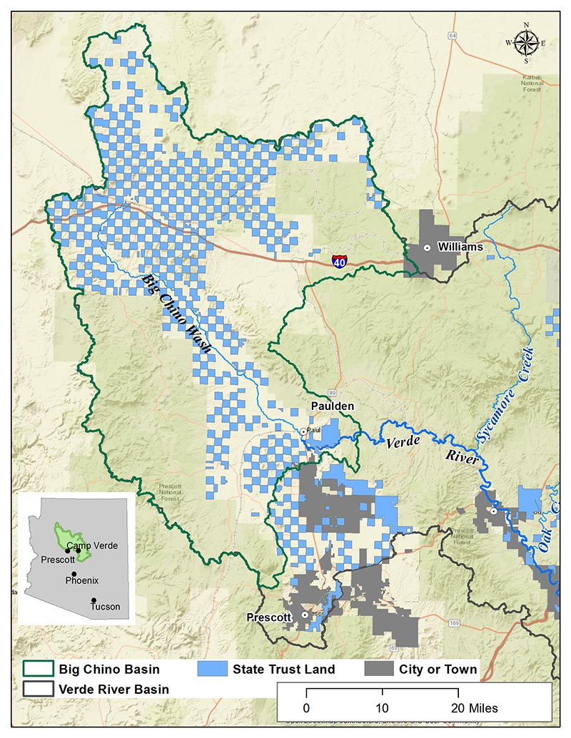 State Land - Big Chino Basin