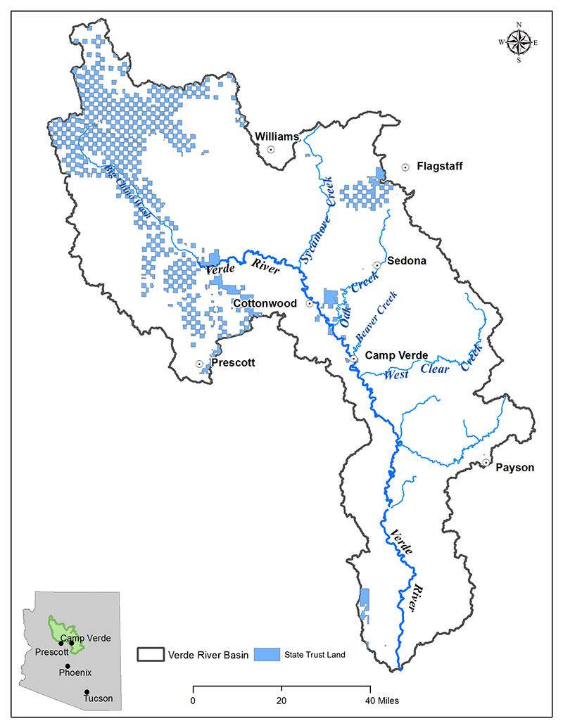 State Land Map