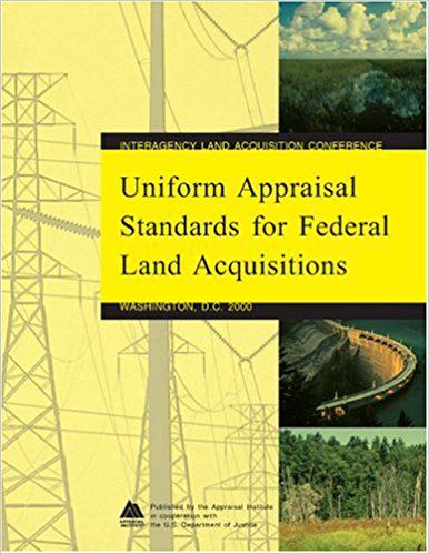Uniform Appraisal Standards - Federal Land Acquisition