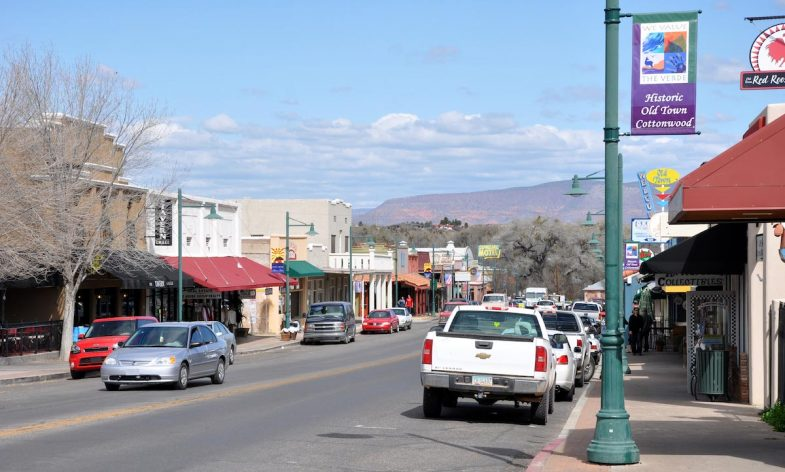Promoting Community - Old Town Cottonwood AZ - photo courtesy of finetooth-cc-by-sa-3.0-us