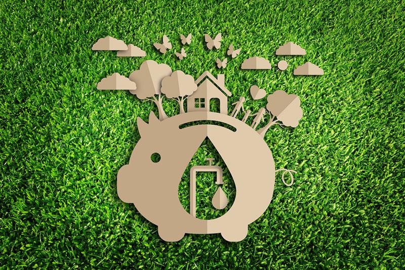 Water Conservation Piggy Bank