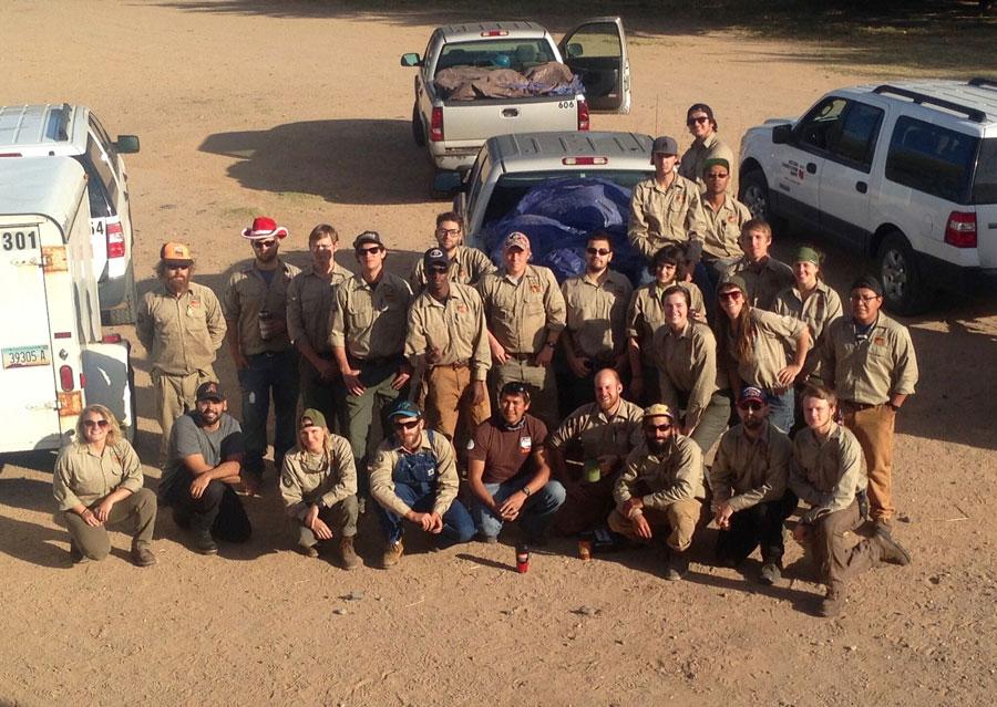 Field Work Crew