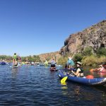 Floating with our Friends on the Salt River